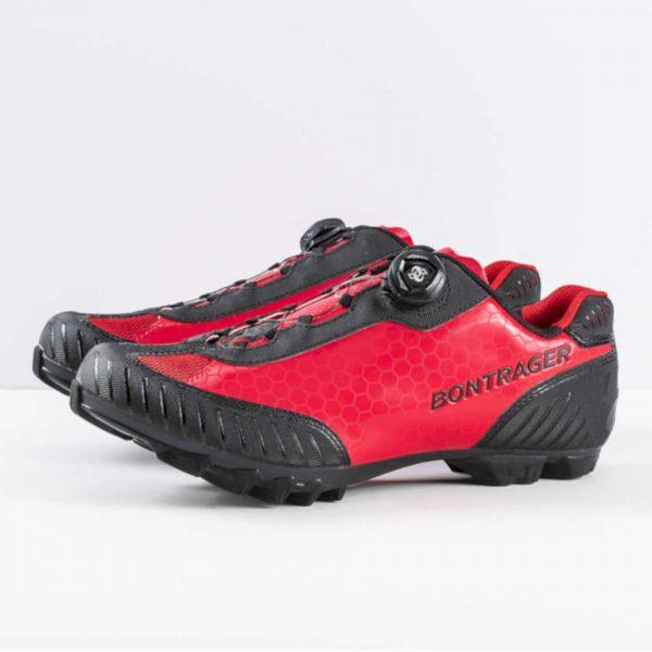 zapatillas bontrager foray montaña rojo