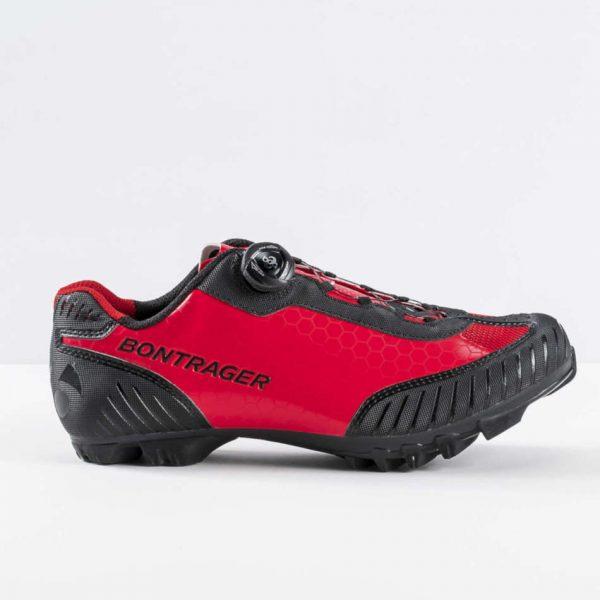 zapatillas bontrager foray montaña rojo viper