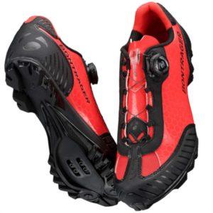zapatillas bontrager foray rojo