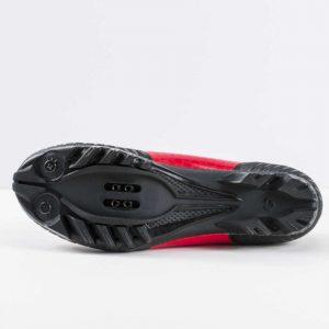 zapatillas ciclismo bonstrager foray montaña rojo viper