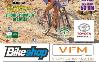 Próxima Maratón BTT Carmona Desert – Campeonato de Andalucía